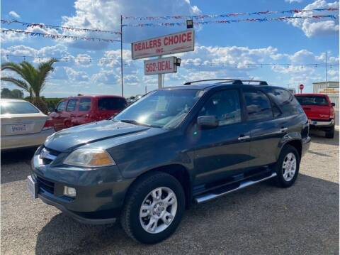 2004 Acura MDX for sale at Dealers Choice Inc in Farmersville CA