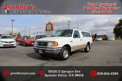 1997 Ford Ranger for sale at Jennifer's Auto Sales in Spokane Valley WA