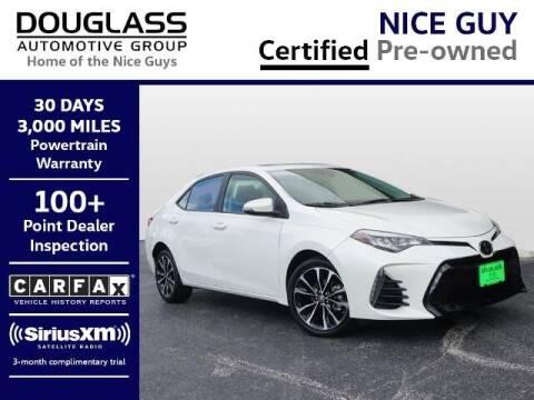 2018 Toyota Corolla for sale at Douglass Automotive Group - Douglas Mazda in Bryan TX