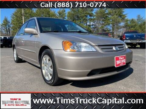 2002 Honda Civic for sale at TTC AUTO OUTLET/TIM'S TRUCK CAPITAL & AUTO SALES INC ANNEX in Epsom NH
