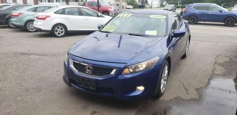 2008 Honda Accord for sale at TC Auto Repair and Sales Inc in Abington MA