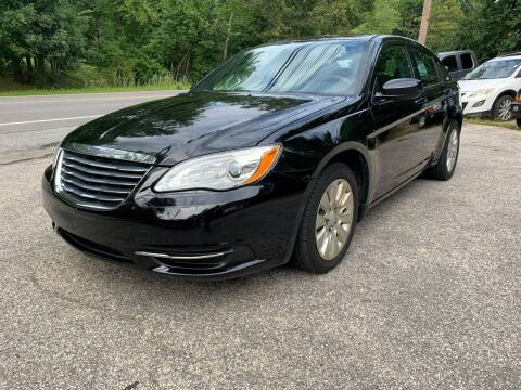 2012 Chrysler 200 for sale at Old Rock Motors in Pelham NH