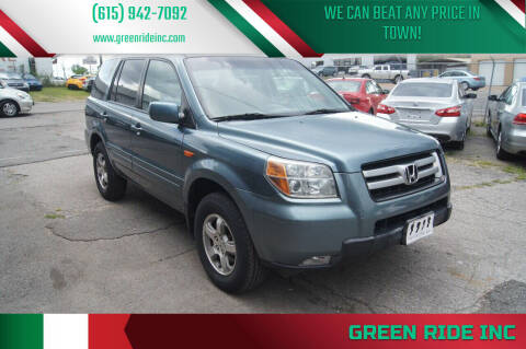 2006 Honda Pilot for sale at Green Ride Inc in Nashville TN