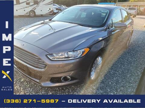 2013 Ford Fusion Hybrid for sale at Impex Auto Sales in Greensboro NC