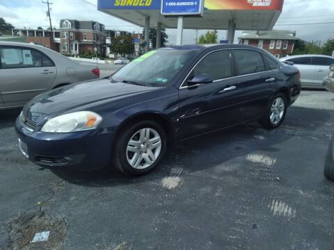 2007 Chevrolet Impala for sale at Credit Connection Auto Sales Inc. YORK in York PA