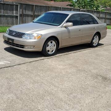 2004 Toyota Avalon for sale at MOTORSPORTS IMPORTS in Houston TX
