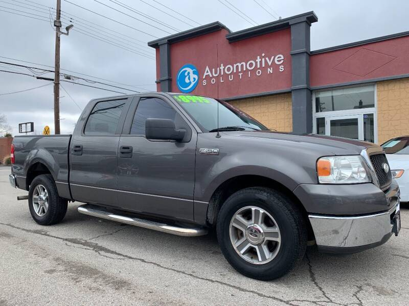 2007 Ford F-150 for sale at Automotive Solutions in Louisville KY