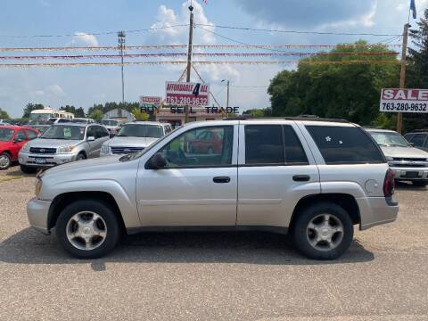 2008 Chevrolet TrailBlazer for sale at Affordable 4 All Auto Sales in Elk River MN