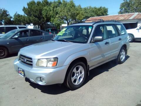 2004 Subaru Forester for sale at Larry's Auto Sales Inc. in Fresno CA