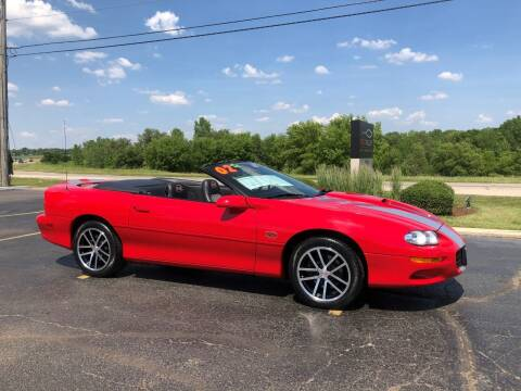 2002 Chevrolet Camaro for sale at Fox Valley Motorworks in Lake In The Hills IL