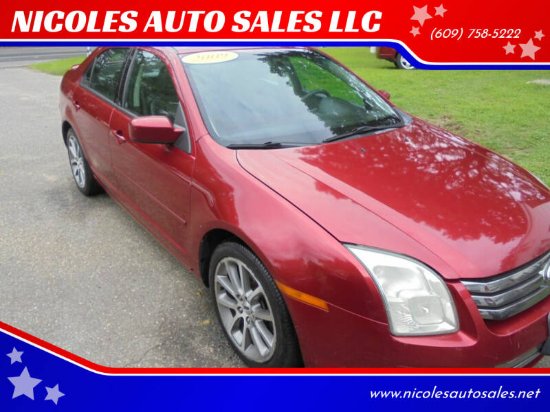 2009 Ford Fusion for sale at NICOLES AUTO SALES LLC in Cream Ridge NJ