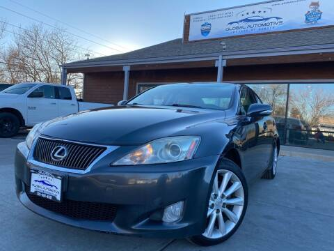 2010 Lexus IS 250 for sale at Global Automotive Imports of Denver in Denver CO