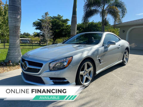 2015 Mercedes-Benz SL-Class for sale at LUXURY IMPORTS AUTO SALES INC in North Branch MN