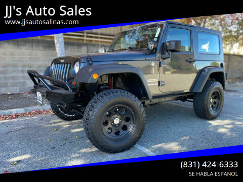 2010 Jeep Wrangler for sale at JJ's Auto Sales in Salinas CA