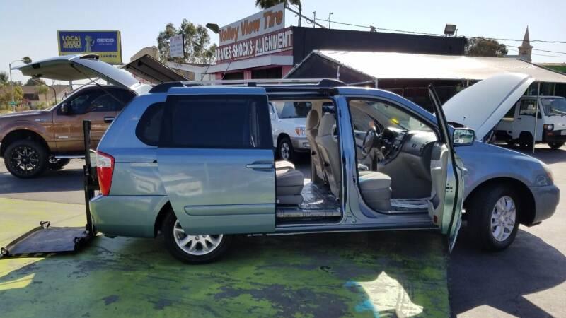 2008 Kia Sedona for sale at Pauls Auto in Whittier CA