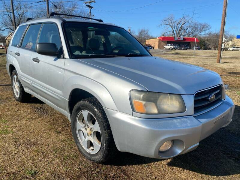 2003 Subaru Forester for sale at Texas Select Autos LLC in Mckinney TX