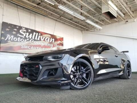 2018 Chevrolet Camaro for sale at SULLIVAN MOTOR COMPANY INC. in Mesa AZ