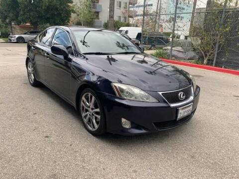 2007 Lexus IS 250 for sale at FJ Auto Sales in North Hollywood CA