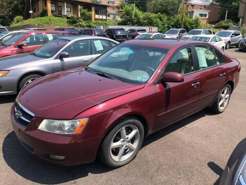 2007 Hyundai Sonata for sale at Fellini Auto Sales & Service LLC in Pittsburgh PA