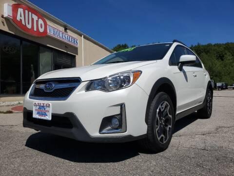 2016 Subaru Crosstrek for sale at Auto Wholesalers Of Hooksett in Hooksett NH