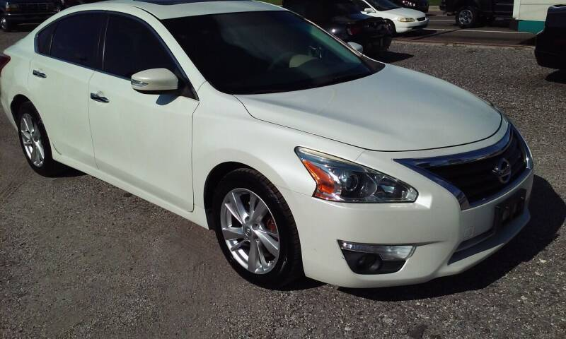 2013 Nissan Altima for sale at Pinellas Auto Brokers in Saint Petersburg FL