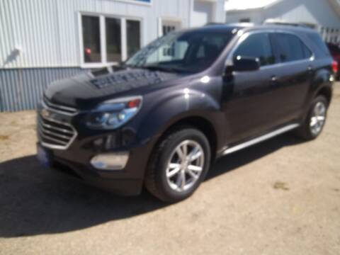 2016 Chevrolet Equinox for sale at Wieser Auto INC in Wahpeton ND