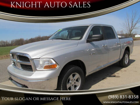 2009 Dodge Ram Pickup 1500 for sale at KNIGHT AUTO SALES in Stanton MI