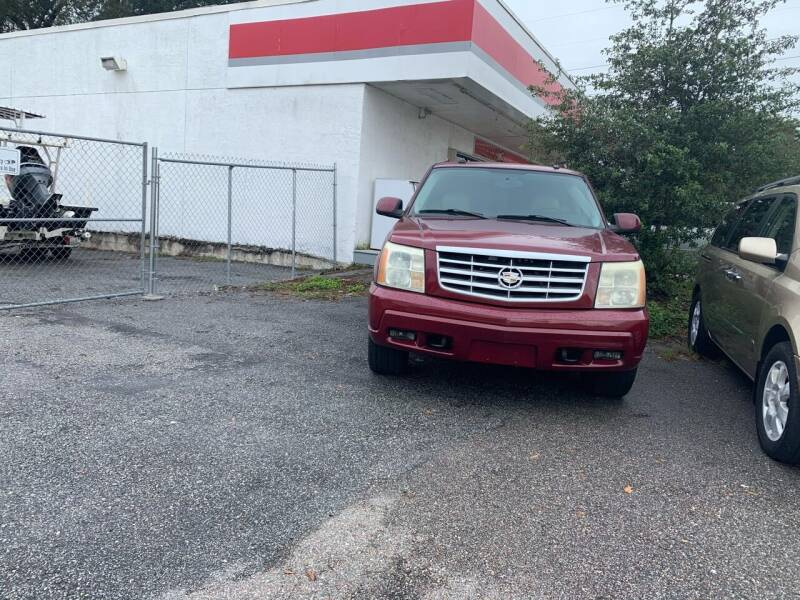 2004 Cadillac Escalade ESV for sale at RAYS AUTOMOTIVE SALES & REPAIR INC in Longwood FL