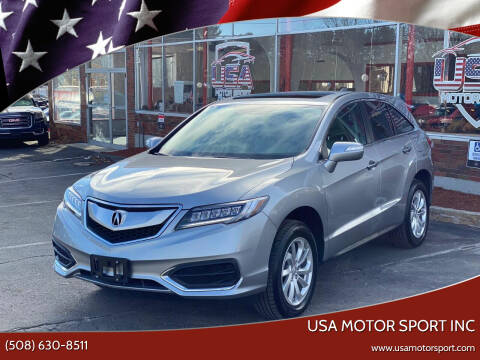 2018 Acura RDX for sale at USA Motor Sport inc in Marlborough MA