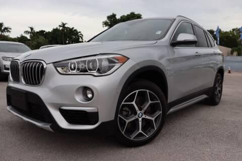 2018 BMW X1 for sale at OCEAN AUTO SALES in Miami FL