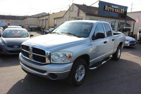 2007 Dodge Ram Pickup 1500 for sale at BANK AUTO SALES in Wayne MI