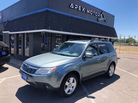 2009 Subaru Forester for sale at Apex Motors in Murray UT