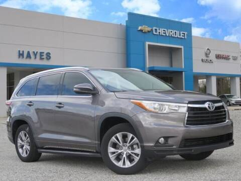 2015 Toyota Highlander for sale at HAYES CHEVROLET Buick GMC Cadillac Inc in Alto GA