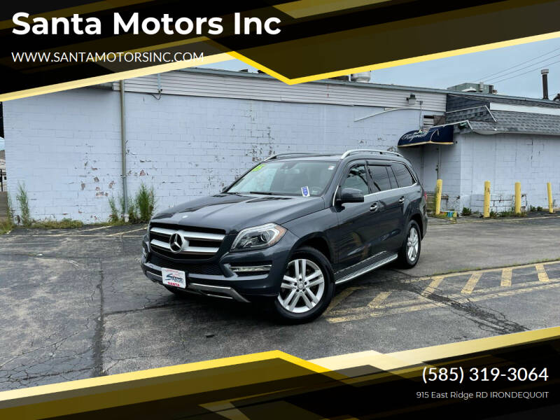 2015 Mercedes-Benz GL-Class for sale at Santa Motors Inc in Rochester NY