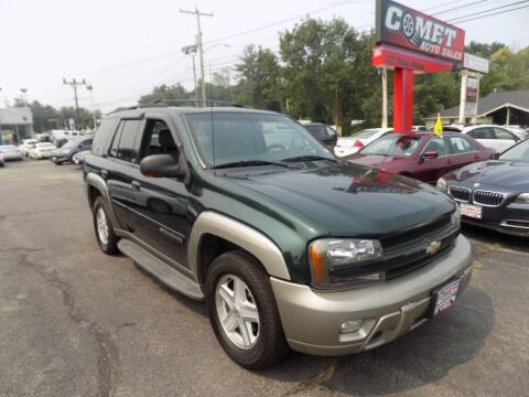2002 Chevrolet TrailBlazer for sale at Comet Auto Sales in Manchester NH