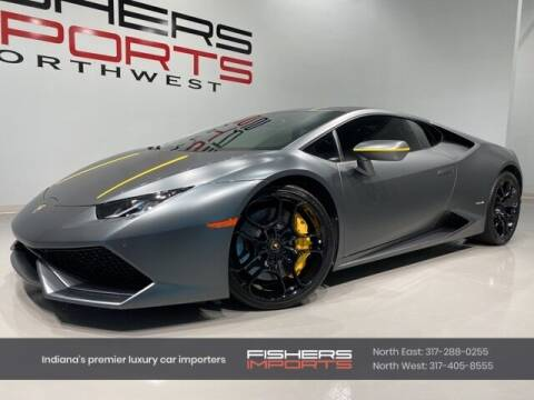 2015 Lamborghini Huracan for sale at Fishers Imports in Fishers IN