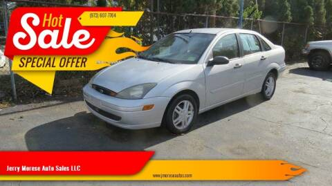 2004 Ford Focus for sale at Jerry Morese Auto Sales LLC in Springfield NJ