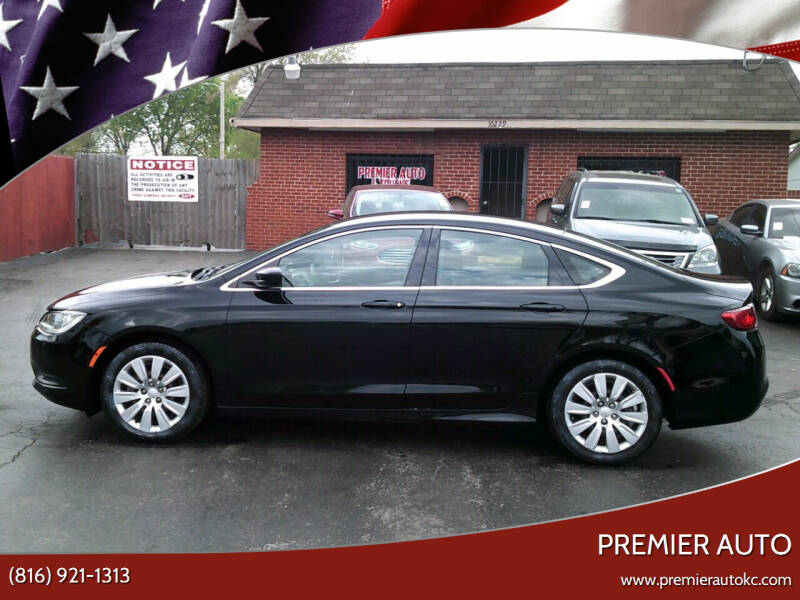 2016 Chrysler 200 for sale at Premier Auto in Independence MO