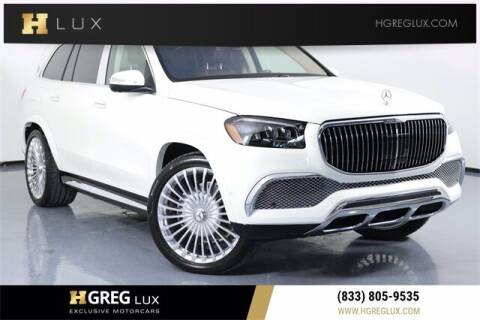 2021 Mercedes-Benz GLS for sale at HGREG LUX EXCLUSIVE MOTORCARS in Pompano Beach FL