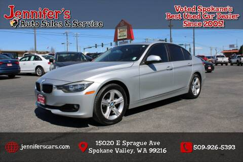2013 BMW 3 Series for sale at Jennifer's Auto Sales in Spokane Valley WA