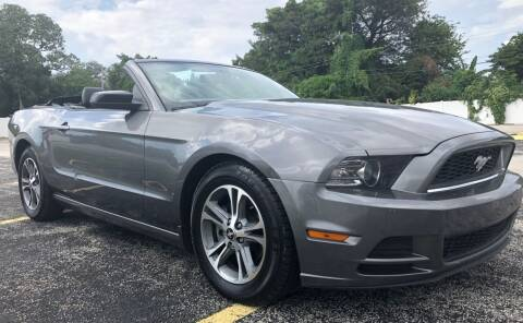 2014 Ford Mustang for sale at Guru Auto Sales in Miramar FL