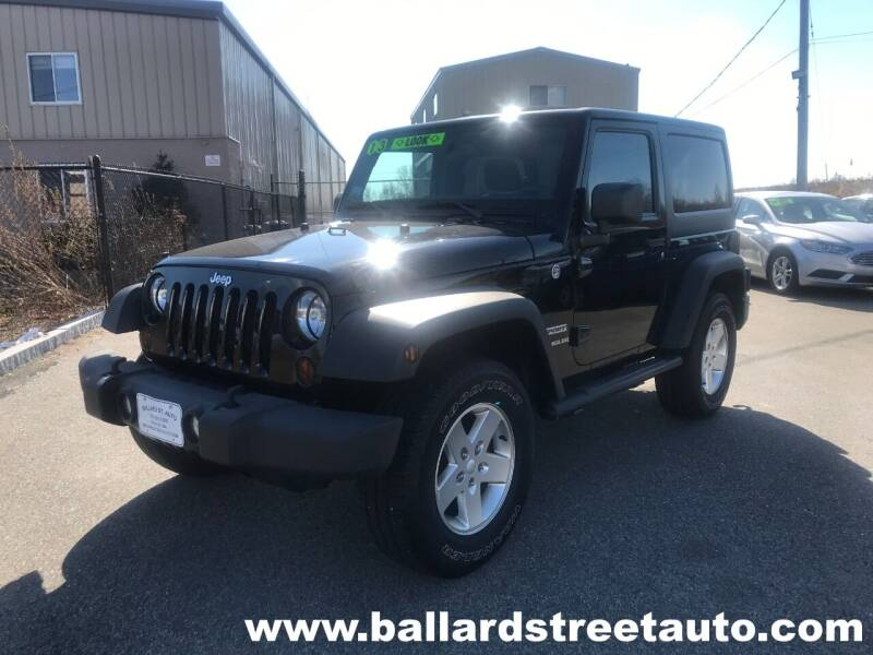 2013 Jeep Wrangler for sale at Ballard Street Auto in Saugus MA