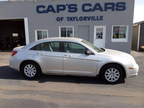 2008 Chrysler Sebring for sale at Caps Cars Of Taylorville in Taylorville IL