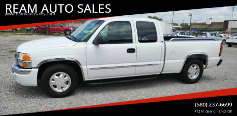 2003 GMC Sierra 1500 for sale at REAM AUTO SALES in Enid OK