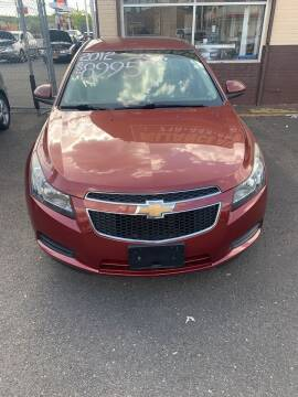 2012 Chevrolet Cruze for sale at Reliance Auto Group in Staten Island NY