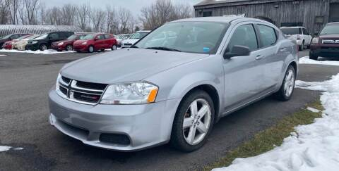 2013 Dodge Avenger for sale at Paul Hiltbrand Auto Sales LTD in Cicero NY