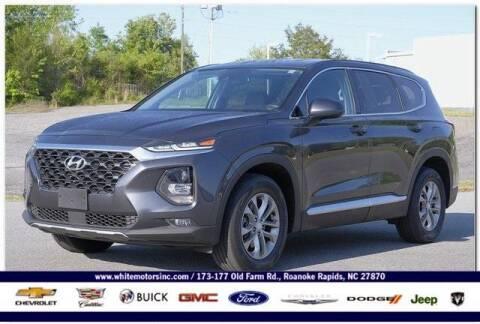 2020 Hyundai Santa Fe for sale at WHITE MOTORS INC in Roanoke Rapids NC