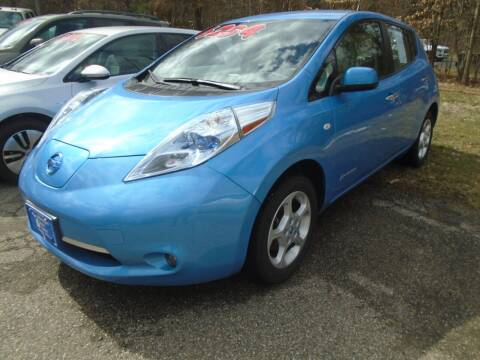 2012 Nissan LEAF for sale at Michigan Auto Sales in Kalamazoo MI