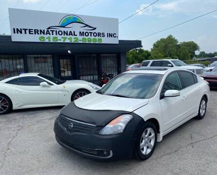 2007 Nissan Altima for sale at International Motors Inc. in Nashville TN