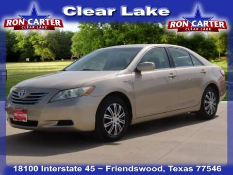 2009 Toyota Camry Hybrid for sale at Ron Carter  Clear Lake Used Cars in Houston TX